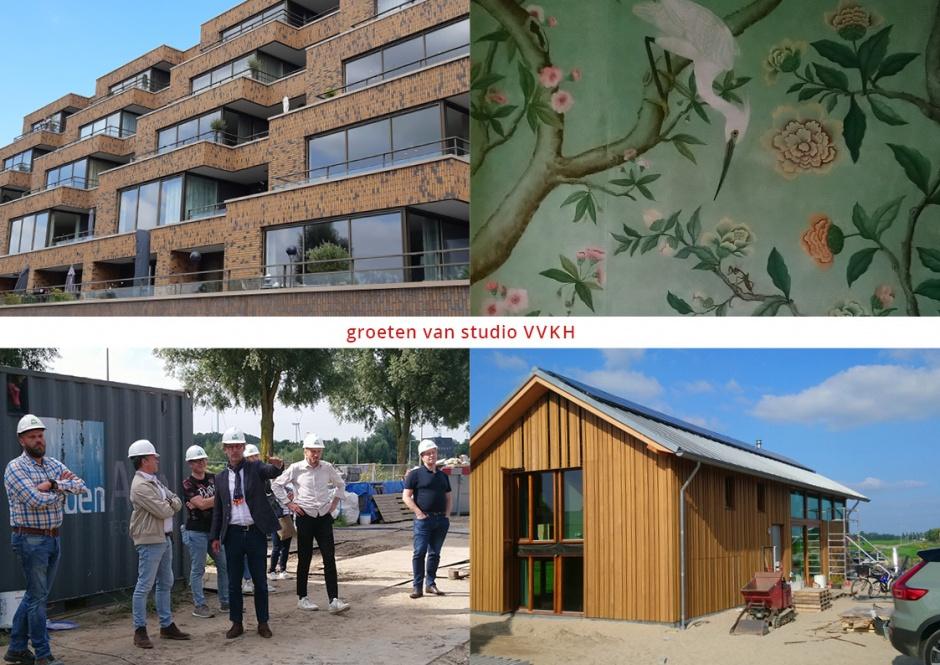 Studio VVKH ging donderdag 2 september op excursie langs eigen werk!
