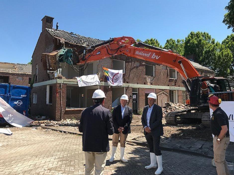 Start sloop veertig duplexwoningen Wassenaar