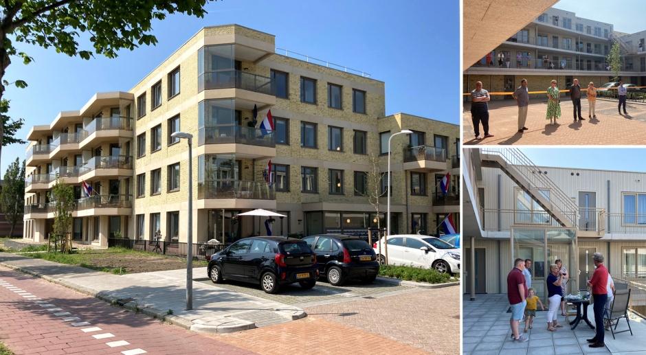 Feestelijke opening appartementengebouw Oeverhof